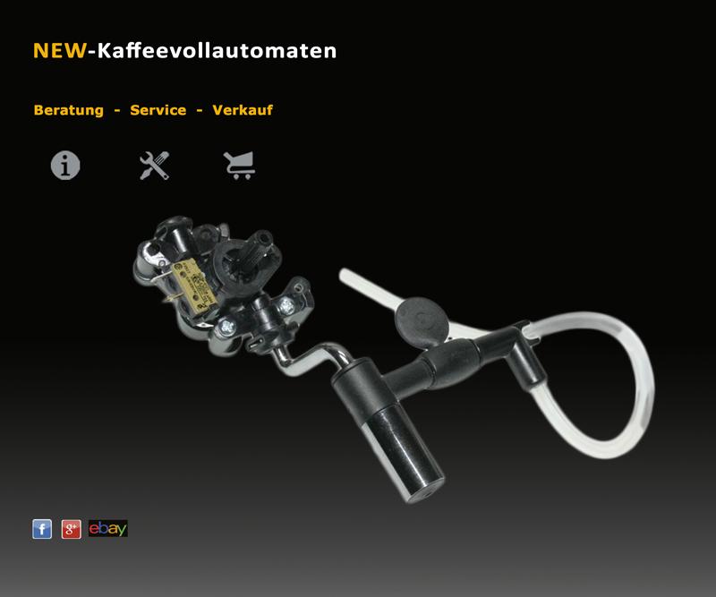 Auto-Cappuccinatore Umbau Set zu Delonghi EAM und ESAM Kaffeevollautomaten NEU