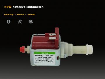 Ulka EP5 Model E water pump for AEG coffee machines