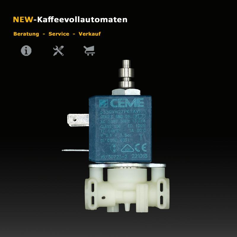DeLonghi Magnetventil Solenoidventil CEME zu ECAM ETAM Kaffeevollautomat
