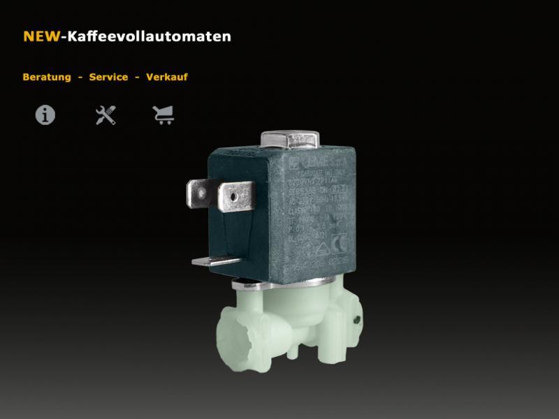 DeLonghi 2 Wege Magnetventil Solenoidventil CEME zu ECAM Kaffeevollautomat