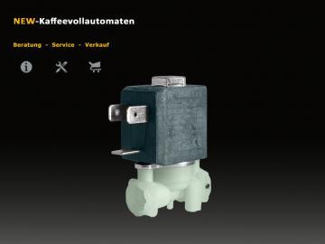 Solenoid Valve 2 exits for De`Longhi ECAM Models
