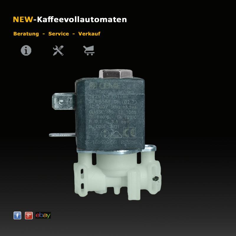 Solenoidventil Magnetventil 2Wege 5213218321 zu Delonghi Kaffeeautomat