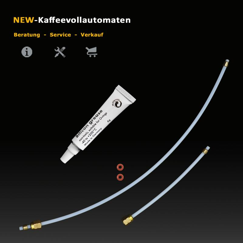 DeLonghi ECAM Heater Sensor Thermostat Seal Water Tubes for Coffee Machine