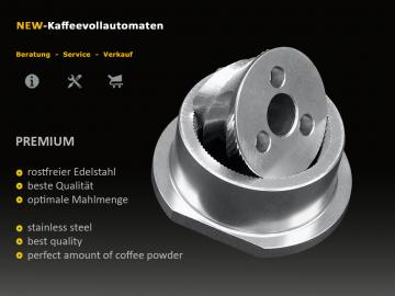 PREMIUM grinder burr conical for coffee machines
