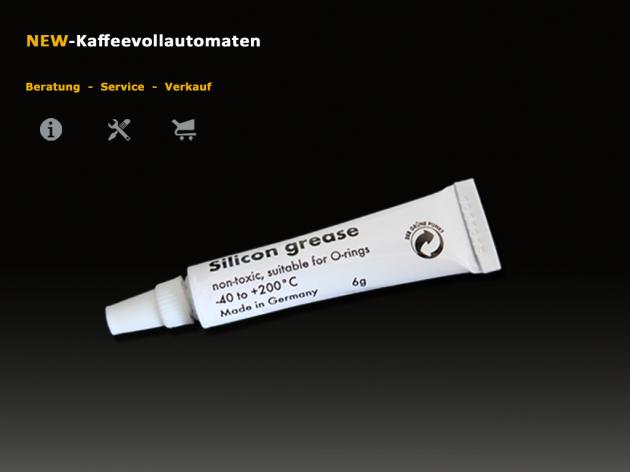 Silicone grease 6g for o-rings and seals