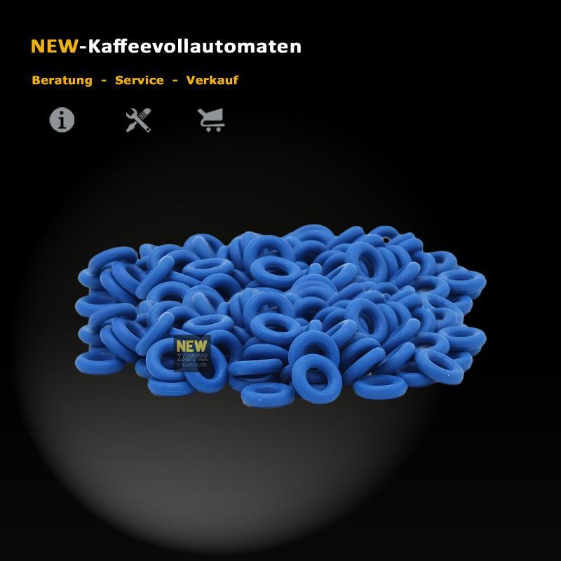 O-Ring Dichtung FKM blau 3,4x1,9 FDA zu Druckschlauch Jura 71423 Kaffeevollautomat