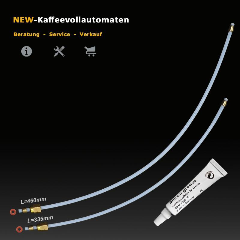 Heizelement Dampfheizung Schnelldampf Temp Senor Thermostate 318°C PTFE Wasserschlauch zu DeLonghi ECAM Kaffeevollautomat