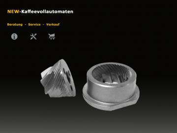 100x Set Mahlscheiben Mahlring Mahlkegel V5.2 zu Mahlwerk Kaffeevollautomat