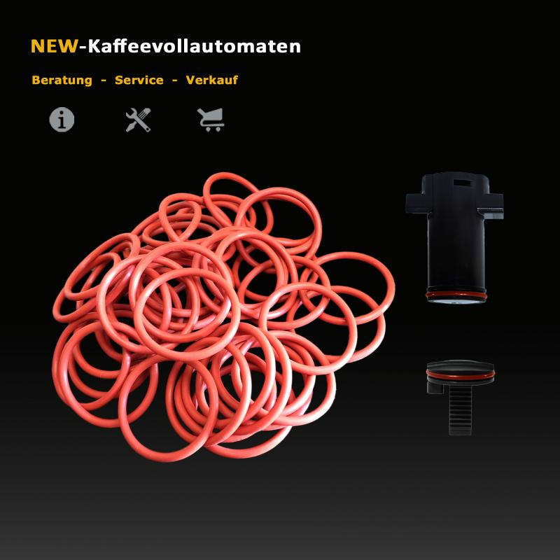 1000 pcs Gasket O-Ring for Brew Group in Jura C-E-F-J-S-X-Z Giga Coffee Machines