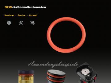 Dichtung O-Ring passend zu DeLonghi Brühkolben Brühgruppe im Kaffeevollautomat