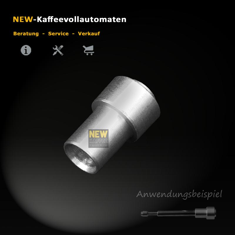 100 pcs of Alu Cap for Metal Rod Drainage Valve Jura AEG Krups Coffee Machine