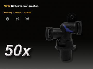 50 pcs Jura 66289 A-C-E-F-S-X-GIGA Thermoblock Outlet Valve