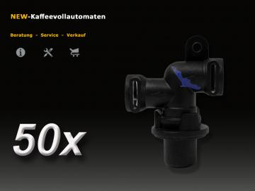 50x Auslaufventil 66289 4 Bar zu Jura AEG Krups Miele Melitta Bosch Siemens Nivona Kaffeevollautomat