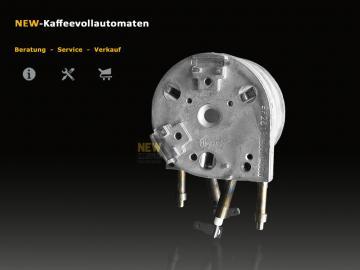 Thermoblock 1400W 230V for Jura Impressa and ENA Coffee Machines