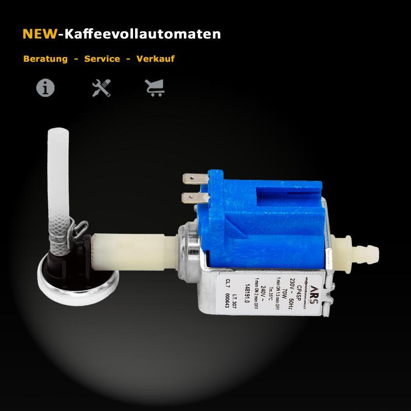 Pumpe komplett mit Membran 71744 Jura Z-Serie Kaffeevollautomat