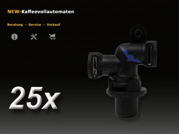 25 pcs Jura 66289 A-C-E-F-S-X-GIGA Thermoblock Outlet Valve