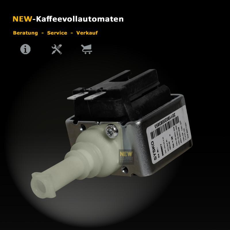 Wasserpumpe Sysko SAP HP4 zu Delonghi Nespresso Kaffeevollautomat