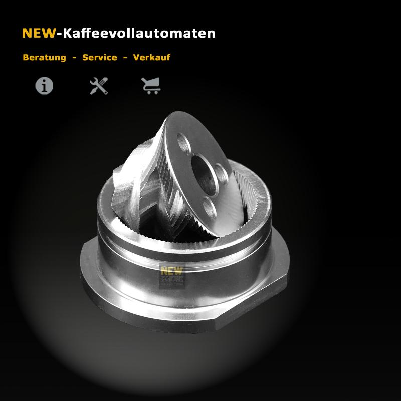 50x Premium Mahlscheiben Mahlring Mahlkegel mit Nut zu Jura 72293 Mahlwerk
