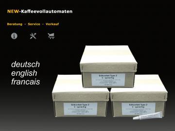 300x Silikonfett Hahnfett 3-sprachig  6g Tube lebensmittelecht