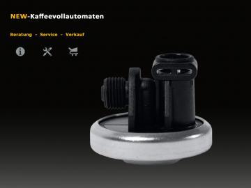 Original Membrane Regulator 59504 for Jura AEG Krups Bosch Siemens Coffee and Espresso Machines