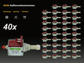 40x Wasserpumpe 5113211281 ULKA EP5 zu DeLonghi Kaffeevollautomat