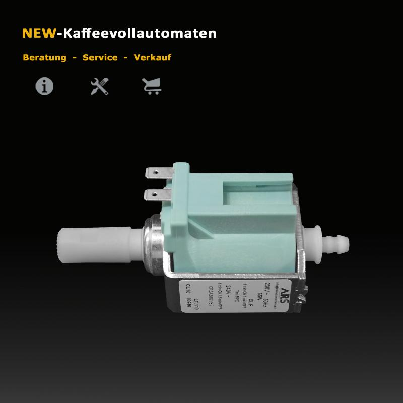 Water Pump ARS Invensys CP3 230V 50Hz 65W for Jura Coffee and Espresso Machines