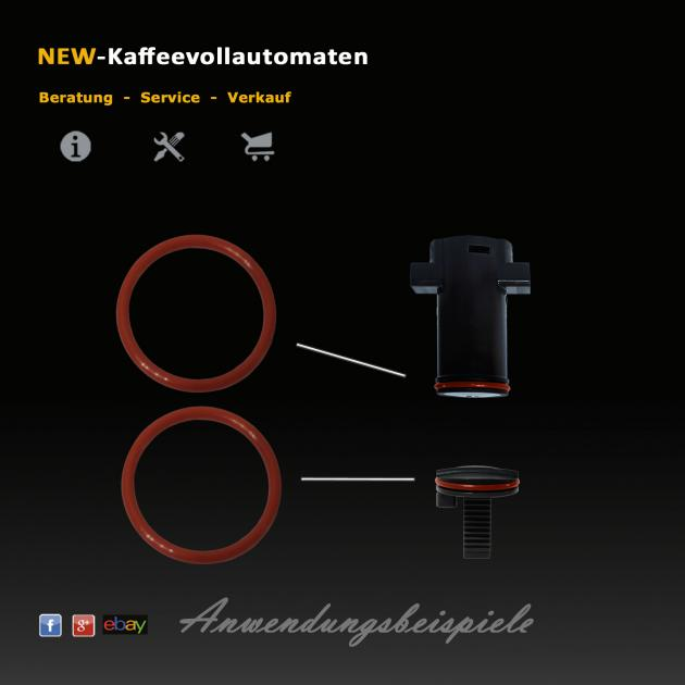 Dichtungsset 11tlg zu Jura AEG Krups Kaffeevollautomat