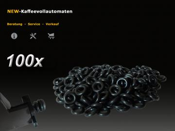 100x O-Ring zu Andockstutzen Jura ENA Micro-A-Serie Drainageventil