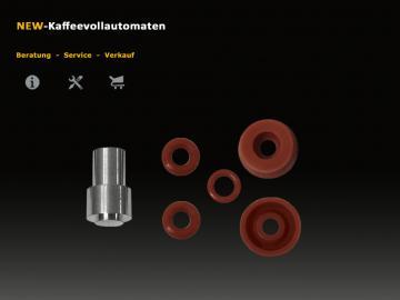 Jura C-E-F-J-S-X-Z-ENA-GIGA Drainage Ventil Reparatur Set