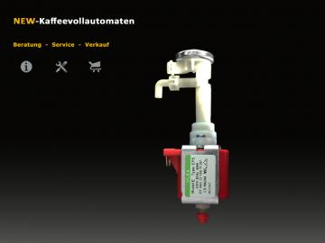 Reparatur Set 7 Pumpe komplett zu DeLonghi Kaffeevollautomat