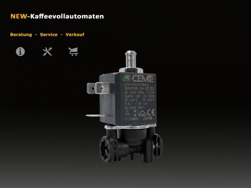 DeLonghi 3 Wege Magnetventil Solenoidventil CEME zu EAM ESAM Kaffeevollautomat