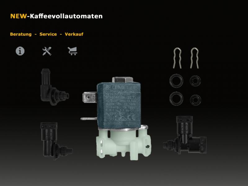 DeLonghi 2 Wege Magnetventil Solenoidventil Kit CEME zu EAM ESAM Kaffeevollautomat