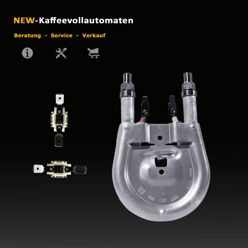 Heizelement Dampfheizung Schnelldampf 1000 W Thermostate 318°C DeLonghi Kaffeevollautomat