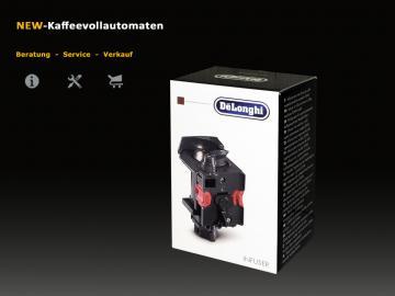 DeLonghi Brüheinheit Brühgruppe zu EAM und ESAM Kaffeevollautomat