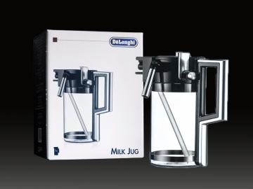 DeLonghi milk carafe, milk frother for ESAM coffee machines