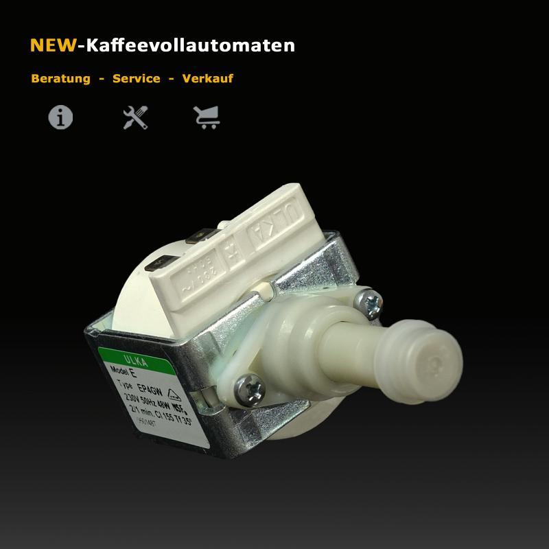 Wasser Pumpe Ulka EP4 GW 230V 48Watt 50Hz zu Bosch Siemens Neff Kaffeevollautomat