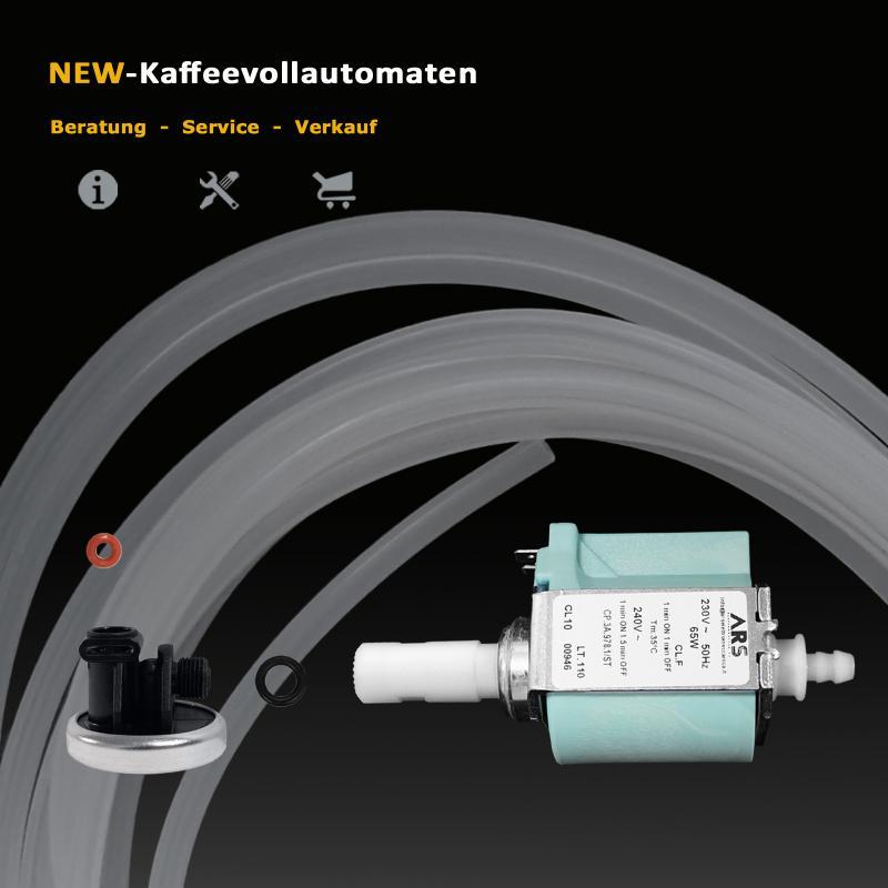 Invensys CP3 Pumpe Membran Dichtungen Schlauch zu Kaffeevollautomat
