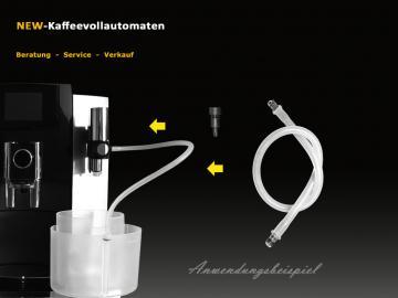 Milchschlauch Fluid Nippel Luftansaugstutzen 71866 zu Jura Milchschäumer Cappuccinodüse