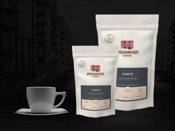 Forte Espressomischung 60% Arabica 40% Robusta ganze Bohnen