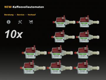 10x Wasserpumpe 5113211281 ULKA EP5 zu DeLonghi Kaffeevollautomat