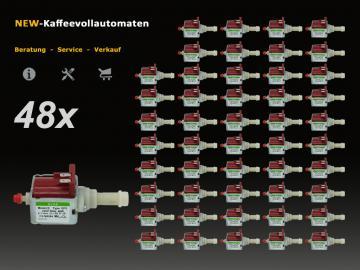 48x Wasserpumpe 5113211281 ULKA EP5 zu DeLonghi Kaffeevollautomat