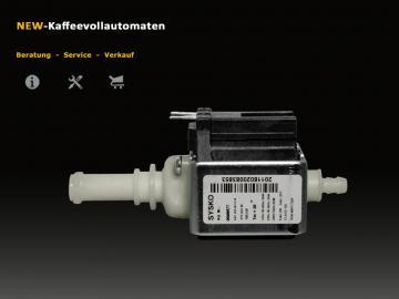 Wasserpumpe Sysko SAP HP4 zu Miele Kaffeevollautomat