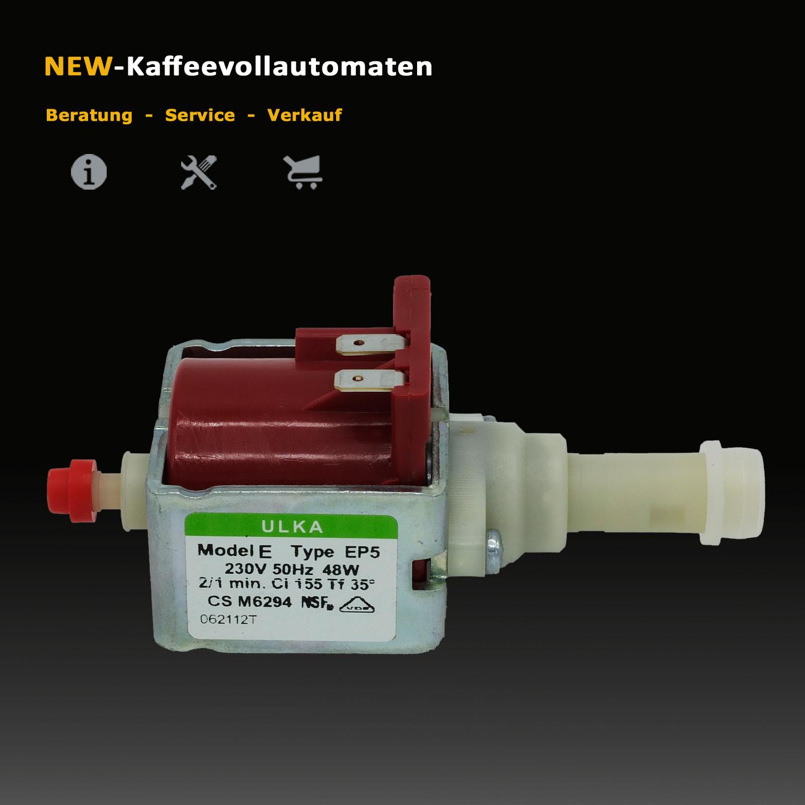 Wasserpumpe Pumpe für AEG Caffe Silenzio  Ulka Type EP5 CS M6294